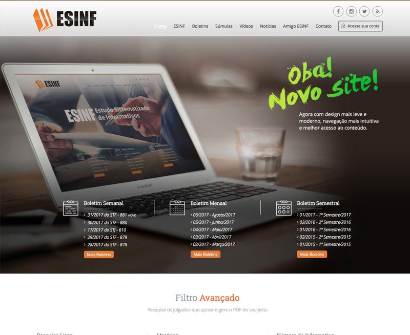 Criação de Sites - ESINF