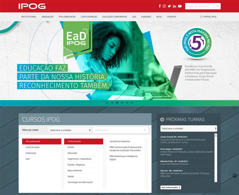 Criação de Sites - IPOG