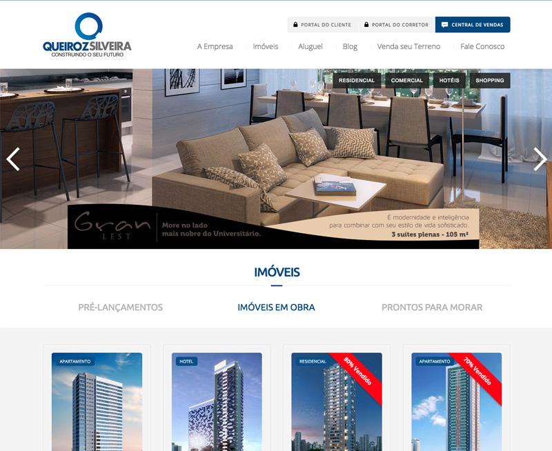 Criação de Sites - Queiroz Silveira