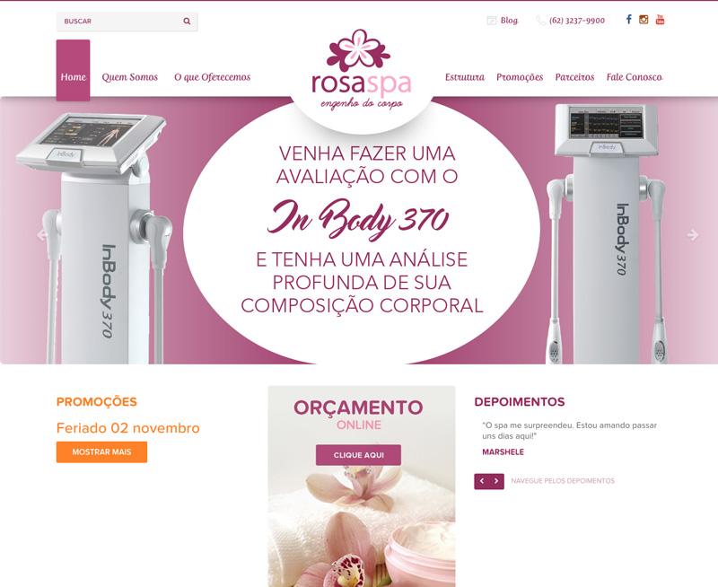 Criação de Sites - Rosa SPA